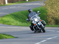 Photo 30 Essai Harley-Davidson Road King Classic 2009