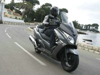 Photo 19 Essai Honda SWT 400 2009