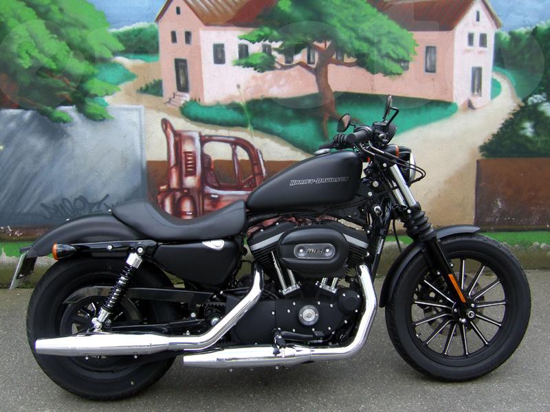 Essai Harley-Davidson Iron 2009 par Jean-Michel Lainé