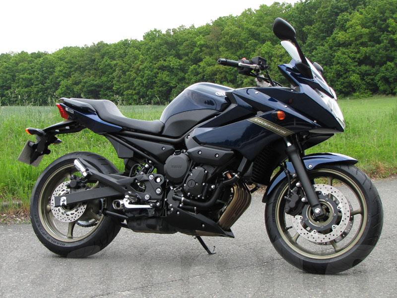 Essai Yamaha XJ6 Diversion modèle 2009 par Jean-Michel Lainé