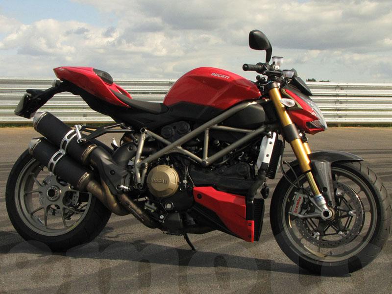 Essai Ducati Streetfighter S modèle 2009 par Photos action Fabrice Berry