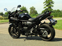 Photo 3 Essai Suzuki Bandit 650 S ABS 2009