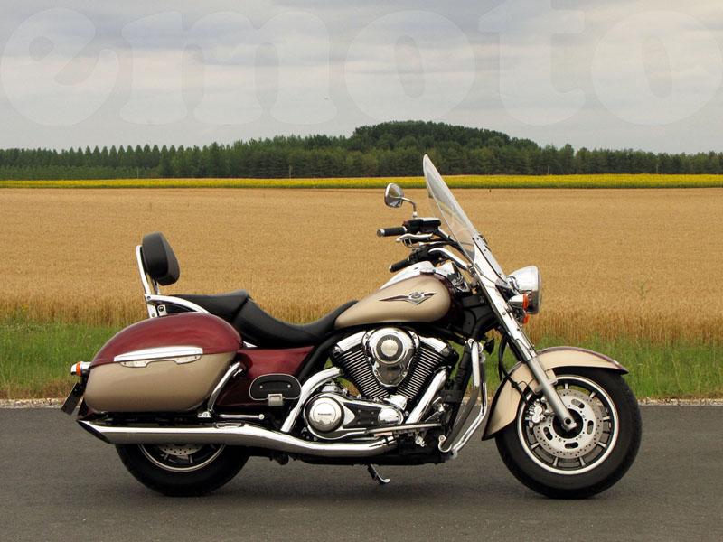Essai Kawasaki VN1700 Tourer 2009 par Jean-Michel Lainé