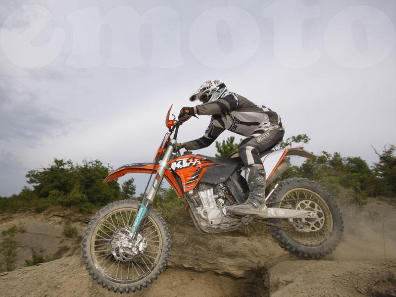 Essai KTM EXC 450 2010 par Jean-Michel Lainé