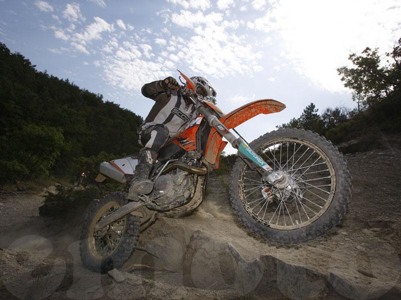 Essai KTM EXC 400 2010 par Jean-Michel Lainé