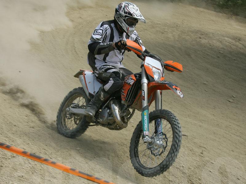 Essai KTM EXC 125 2010 par Jean-Michel Lainé