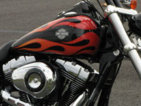 Photo 1 Essai Harley-Davidson Wide Glide 2010