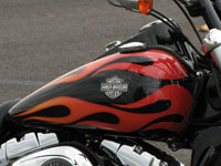 Photo 2 Essai Harley-Davidson Wide Glide 2010