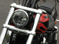 Photo 8 Essai Harley-Davidson Wide Glide 2010