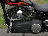 Photo 9 Essai Harley-Davidson Wide Glide 2010