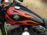 Photo 10 Essai Harley-Davidson Wide Glide 2010