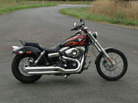 Photo 21 Essai Harley-Davidson Wide Glide 2010