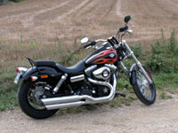 Photo 27 Essai Harley-Davidson Wide Glide 2010