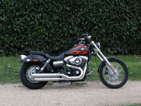 Photo 28 Essai Harley-Davidson Wide Glide 2010
