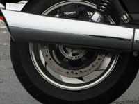 Photo 8 Essai Triumph Rocket III Roadster 2010