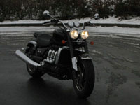 Photo 17 Essai Triumph Rocket III Roadster 2010