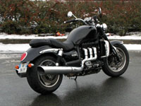 Photo 18 Essai Triumph Rocket III Roadster 2010