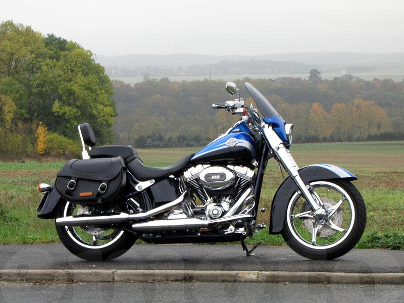 Essai Harley-Davidson CVO Softail Convertible modèle 2010 par Jean-Michel Lainé