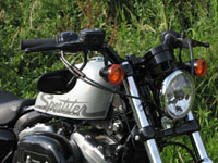 Photo 2 Essai Harley-Davidson Forty Eight 2010