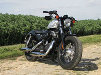 Photo 8 Essai Harley-Davidson Forty Eight 2010