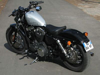 Photo 14 Essai Harley-Davidson Forty Eight 2010