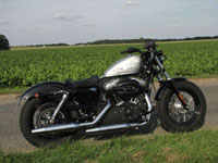Photo 21 Essai Harley-Davidson Forty Eight 2010