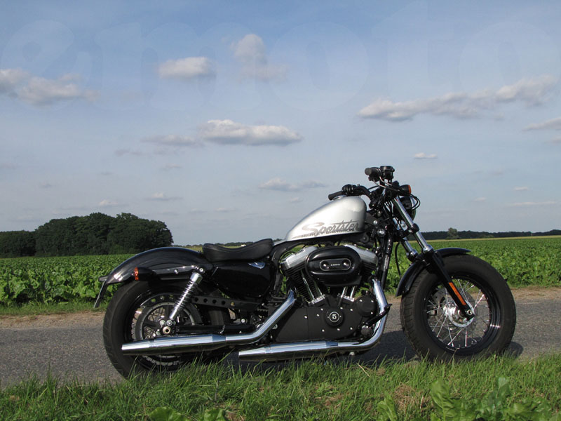 Essai Harley-Davidson Forty Eight 2010 par Jean-Michel Lainé