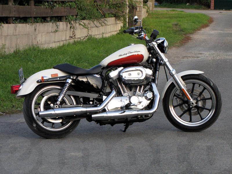Essai Harley-Davidson SuperLow modèle 2011 par Jean-Michel Lainé