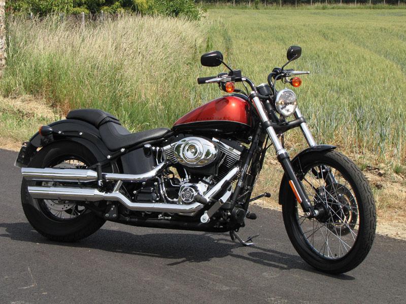 Essai Harley-Davidson Blackline 2011 par Jean-Michel Lainé