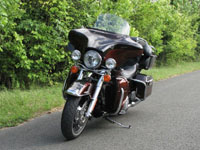 Photo 3 Essai Harley-Davidson Electra Glide Ultra Limited 2011