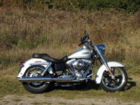 Photo 6 Essai Harley-Davidson Switchback 2012