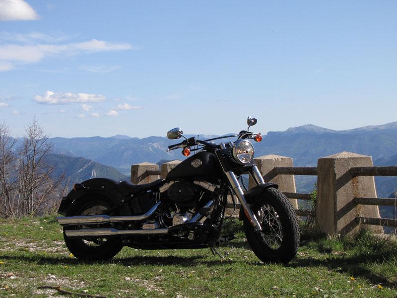 Essai Harley-Davidson Softail Slim modèle 2012 par Jean-Michel Lainé