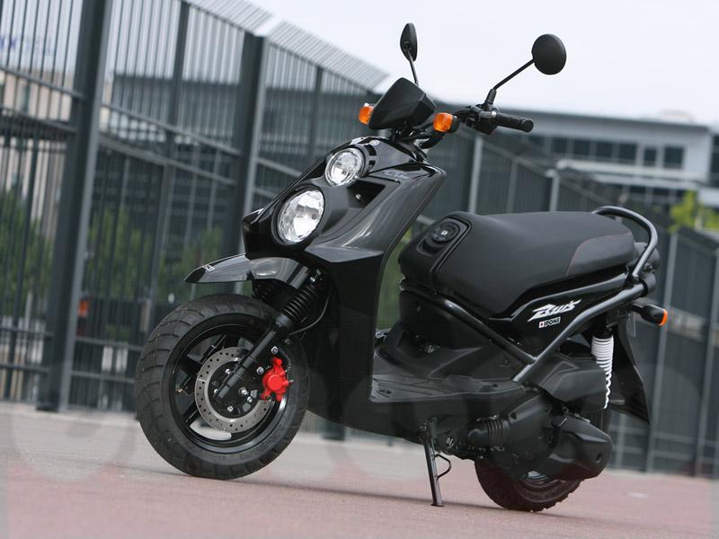 Essai Yamaha BW'S 125 2010 par Julien Métrop