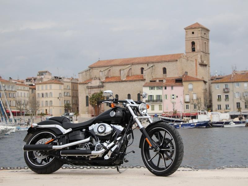 Essai Harley-Davidson Breakout 2013 par Jean-Michel Lainé