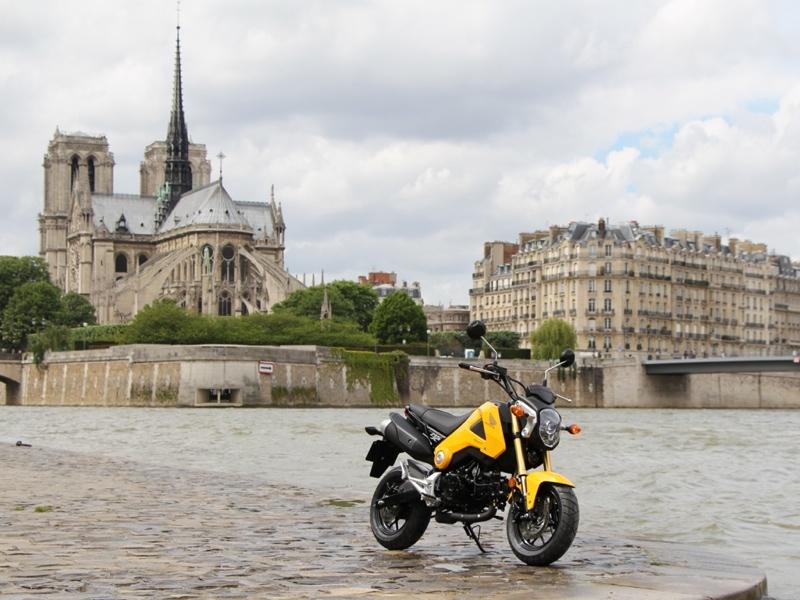 Essai Honda MSX 125 modèle 2013 par Jean-Michel Lainé