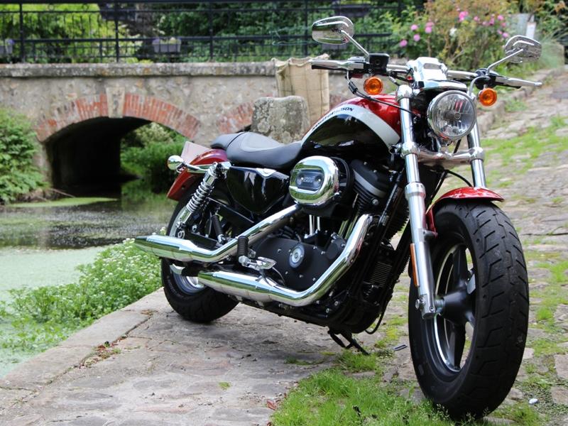 Essai Harley-Davidson Sportster XL 1200 CA 2013 par Jean-Michel Lainé