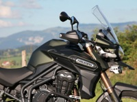 Photo 8 Essai Triumph Tiger Explorer 1200 XC modèle 2013