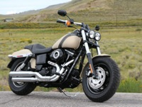 Photo 5 Essai Harley-Davidson Fat Bob 2014