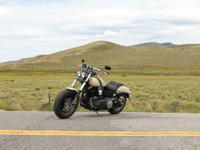 Photo 15 Essai Harley-Davidson Fat Bob 2014