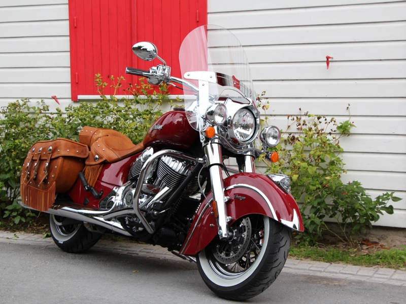 Essai Indian Chief Vintage 2014 par Jean-Michel Lainé