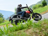 Photo 1 Essai Moto-Guzzi V7 Stone 2014