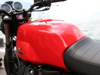 Photo 9 Essai Moto-Guzzi V7 Stone 2014
