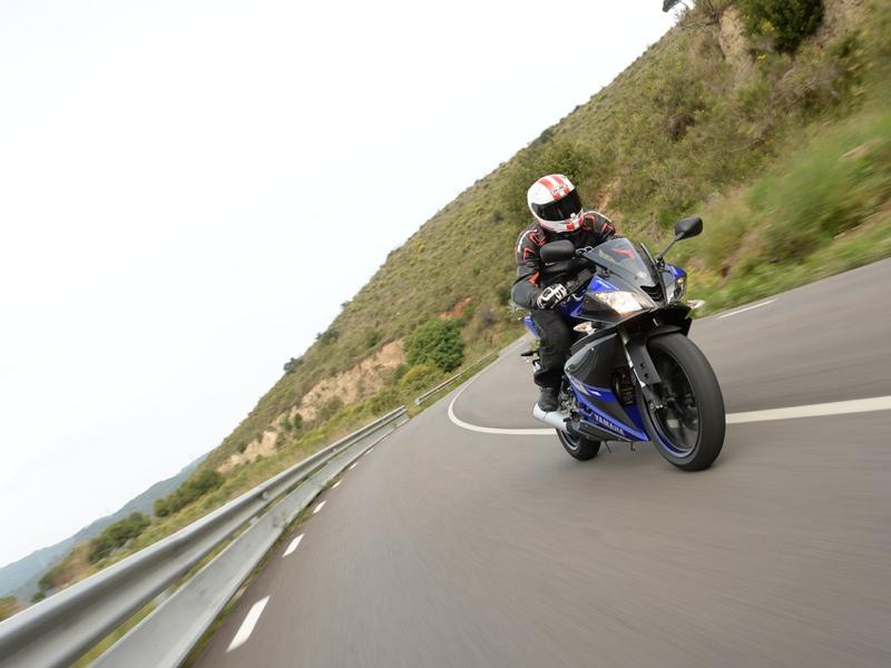 Essai Yamaha YZF R 125 2014 par Jean-Michel Lainé