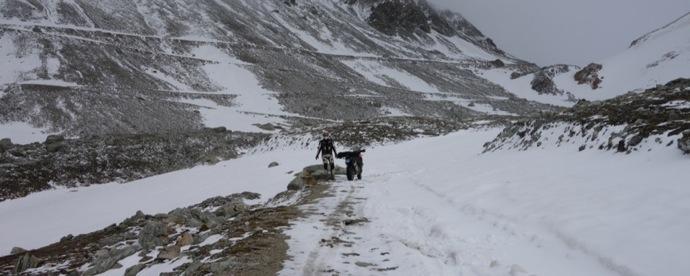 Route militaire des Alpes 2/3 : Col du Sommeiller par Jean-Michel Lainé