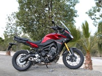Photo 1 Essai Yamaha MT-09 Tracer 2015