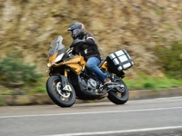 Photo 26 Essai Aprilia Caponord 1200 Rally 2015
