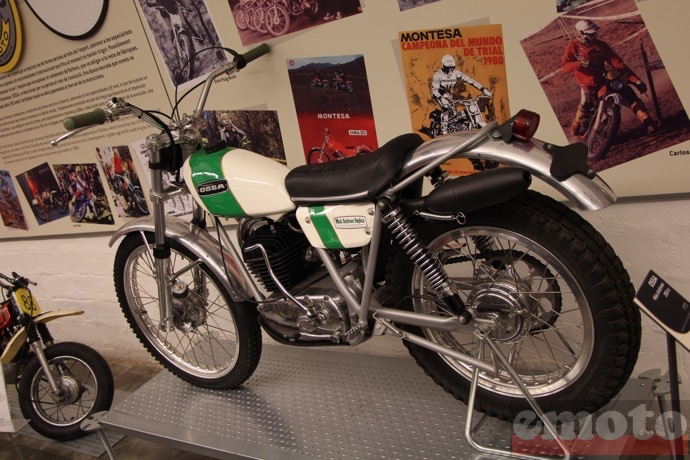 ossa mike andrews 250 de 1972