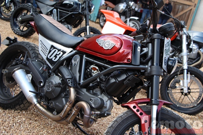 creativ garage ducati scrambler the toy machine