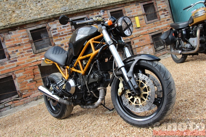 etik motorcycles ducati monster
