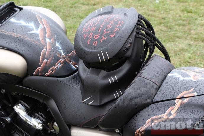 Casque moto vmax